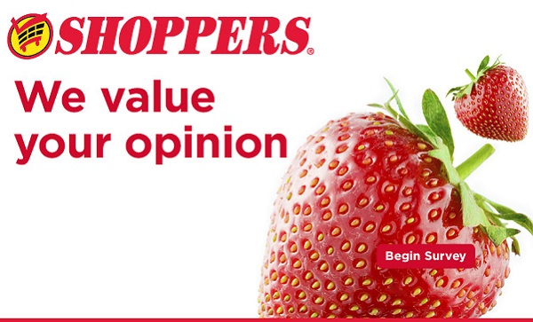 Shoppers Listens Customer Satisfaction Survey