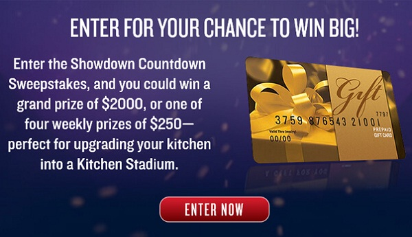 Iron Chef Showdown Sweepstakes | SweepstakesBible