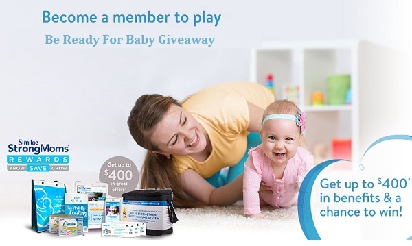 Similac StrongMoms Dream Registry Instant Win Game