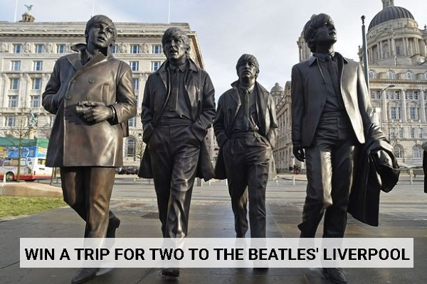 SiriusXM.com Beatles Liverpool Sweepstakes