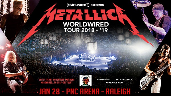 Siriusxm.com Metallica WorldWired Tour Sweepstakes