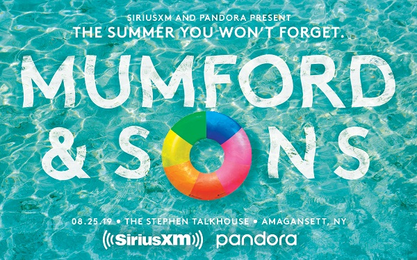 Siriusxm Mumford and Sons Sweepstakes