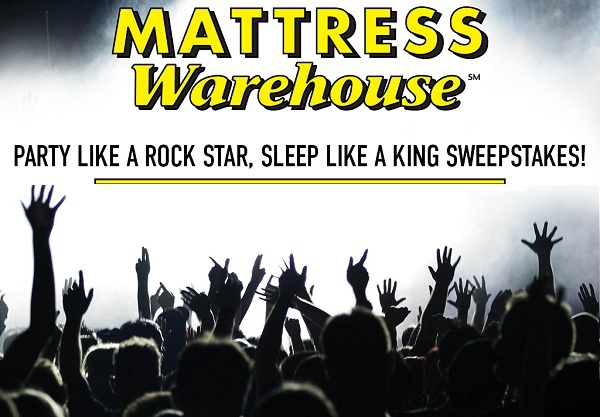 Mattress Warehouse Sweepstakes: Win Live Nation Ultimate Access Pass