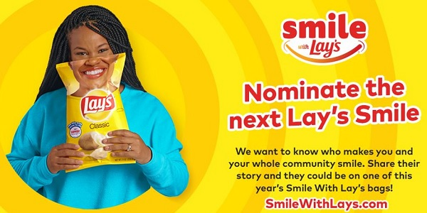 Lay's Contest 2020 on Smilewithlays.com