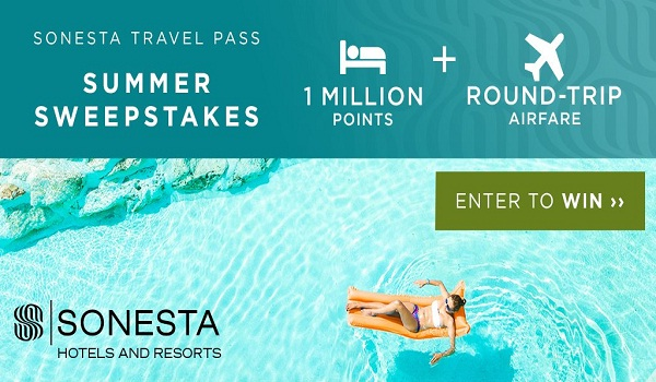 Sonesta Travel Pass Summer Sweepstakes | SweepstakesBible