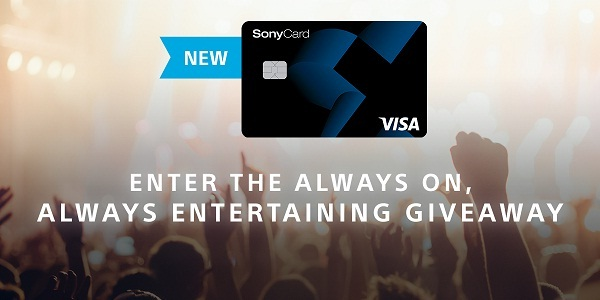 Sony Rewards Always On Always Entertaining Giveaway