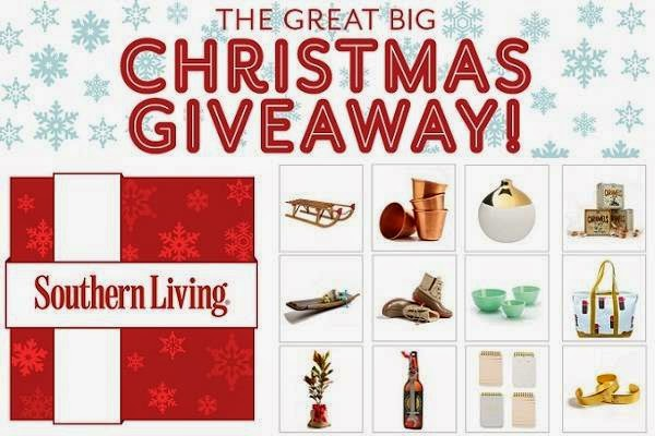 Southern Living Great Big Christmas Giveaway