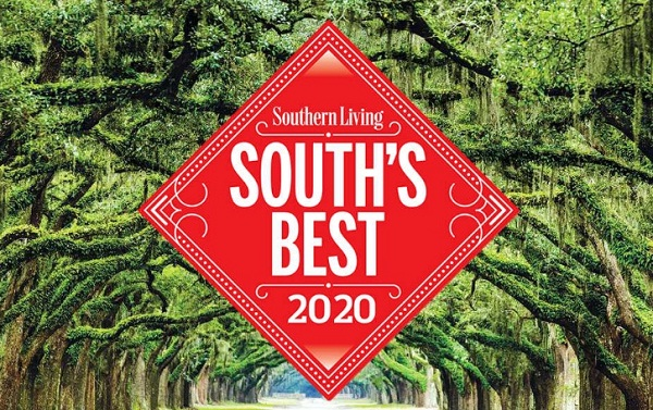 Southern Living South's Best Survey 2020