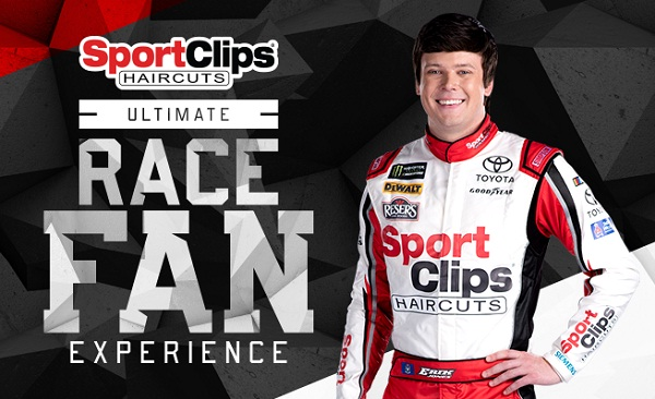 Sport Clips Ultimate Race Fan Experience at Dover Sweepstakes