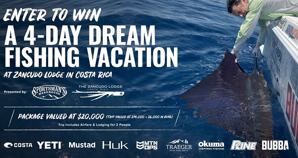 Zancudo Costa Rica Fishing Vacation Sweepstakes