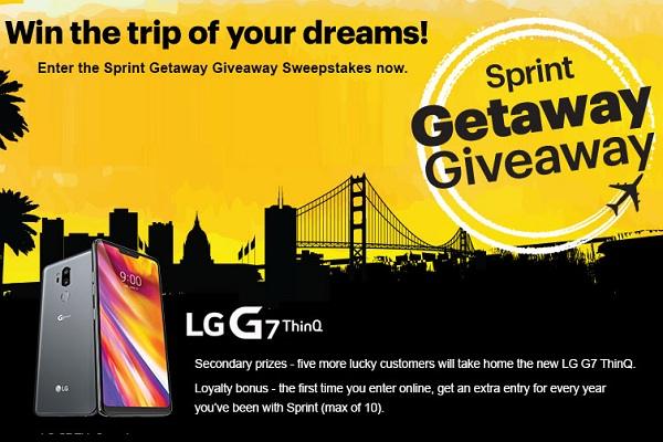 Sprint com Getaway Giveaway Sweepstakes | SweepstakesBible