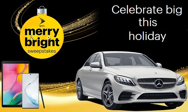 Sprint.com Merry & Bright Sweepstakes