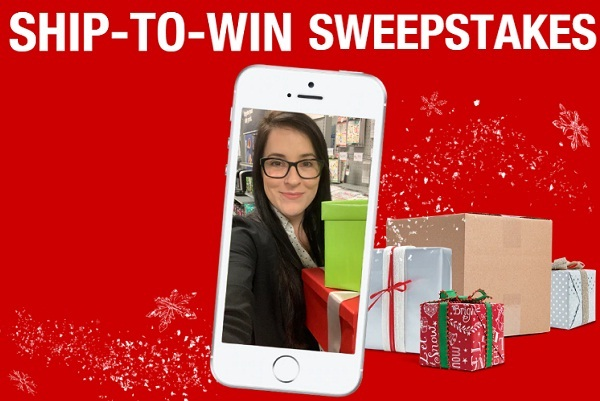 Staples.com Ship to Win Sweepstakes