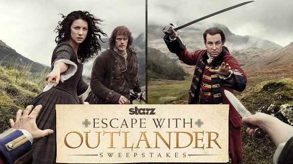 Starz Escape with Outlander Sweepstakes