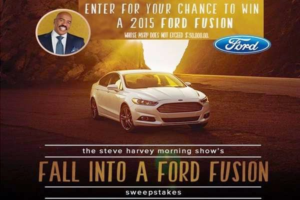 steve harvey sweepstakes steve harvey ford fall giveaway sweepstakesbible 6238