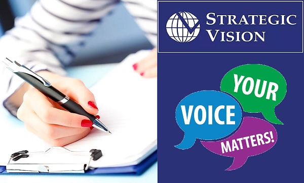 Strategic Vision Survey Sweepstakes 2020