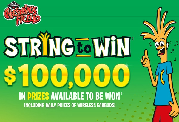Cheestrings String to Win Contest 2020: Win $10000 Cash