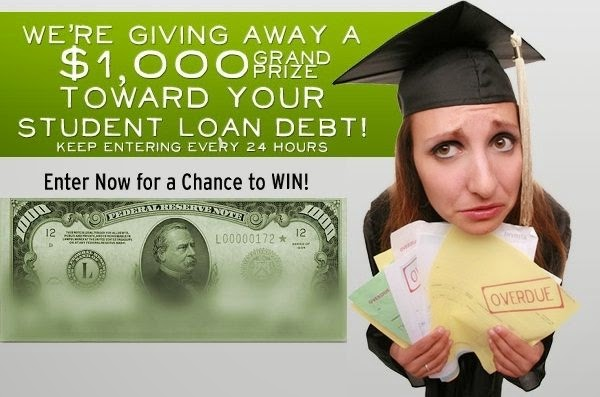 $1000 Student Loan Sweepstakes