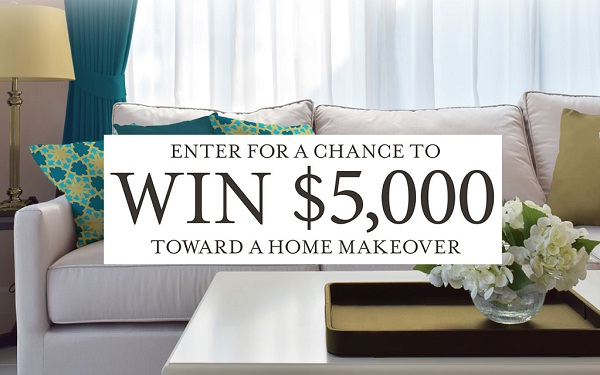 Win $5000 Home Makeover in Styled By Ava Grace Sweepstakes
