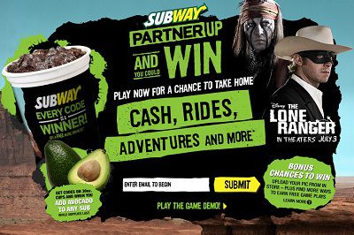 Subway Partner up and win Game