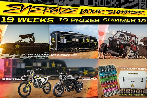 Rockstarenergy.com Energize Your Summer Sweepstakes