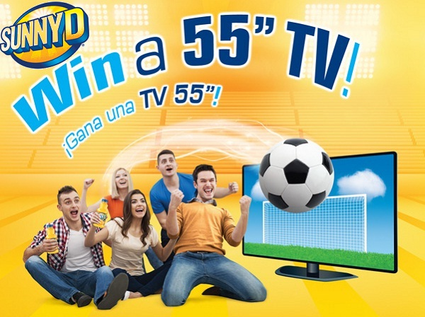 "Win a 55"" Television in SunnyD Copa 2016 Sweepstakes"