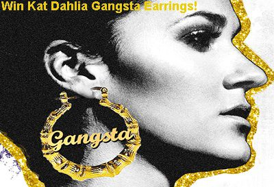 Superglued.com Kat Dahlia Gansta Earrings Giveaway