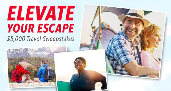 AARP.org Elevate Your Escape $5,000 Travel Sweepstakes