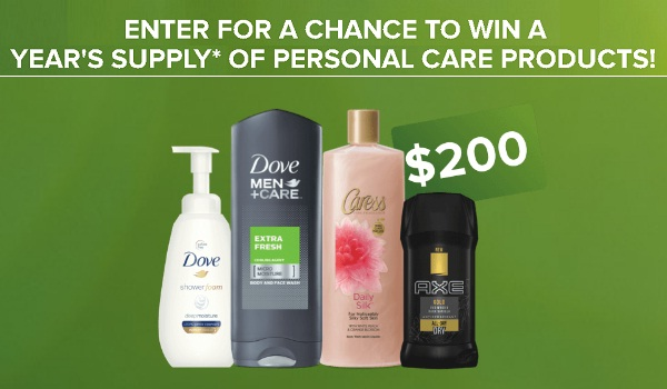 Unilever Take A New Look Sweepstakes