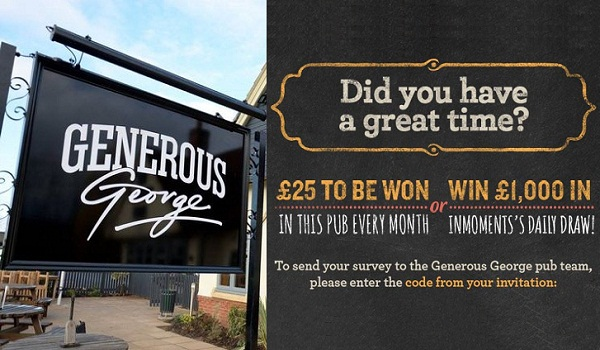 Generous George Customer Survey: Win $1000 daily
