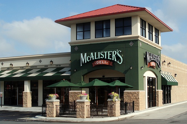 Tell McAlister's Deli Feedback in Guest Satisfaction Survey