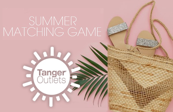 Tangeroutlet.com Summer Matching Game Sweepstakes