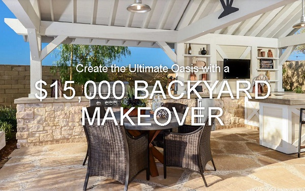 Great American $15000 Backyard Makeover Giveaway - Backyard Makeover Sweepstakes SweepstakesBible