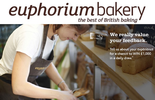 Take Euphorium Bakery Customer Survey