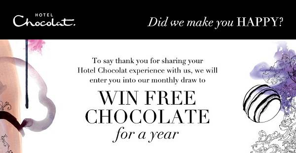 Tell Hotel Chocolat Survey Sweepstakes