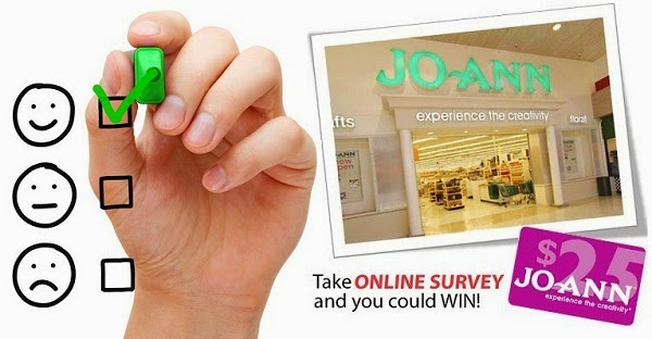 Tell JoAnn in Feedback Survey Sweepstakes