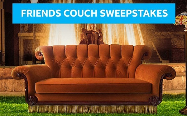 AT&T Thanks Sweepstakes: Win Iconic FRIENDS Couch