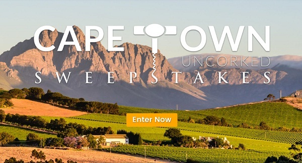 Theafricachannel.com Cape Town Uncorked Sweepstakes