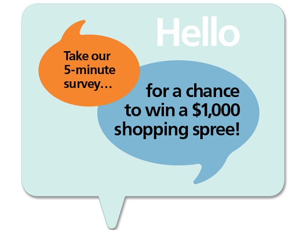 Share Mathis Brothers Feedback in Survey to Win $1000 Shopping Spree