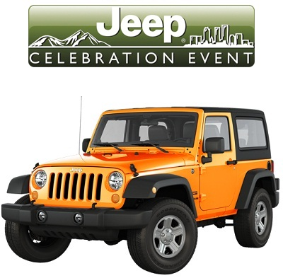 The Jeep Celebration Sweepstakes: Win 2012 Jeep Wrangler