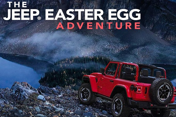 The Jeep Easter Egg Contest: Win Car!