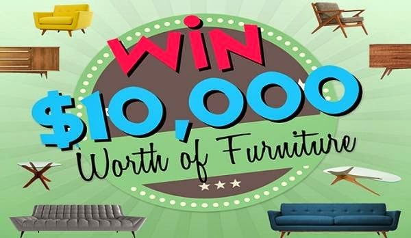 WIN $10,000 Worth of Mid-Century Modern Furniture!