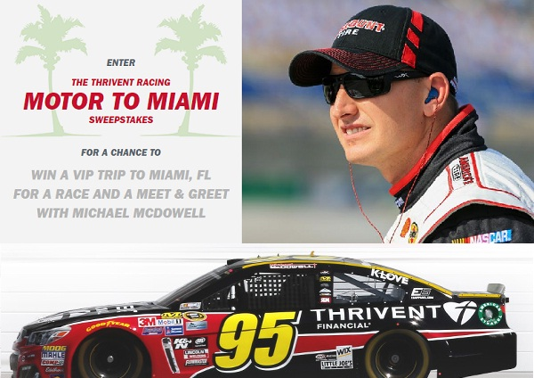 Thrivent Racing Motor To Miami Sweepstakes