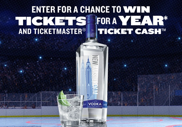 Ticketmaster.com Tickets for a Year Sweepstakes
