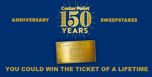 Cedar Point: Ticket of a Lifetime Sweepstakes