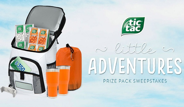 Win 1 of 8 Tic Tac Little Adventures Prize Pack Sweepstakes