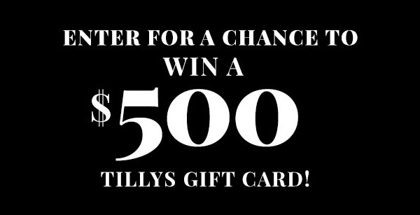 Tillys Free Gift Card Giveaway 2020