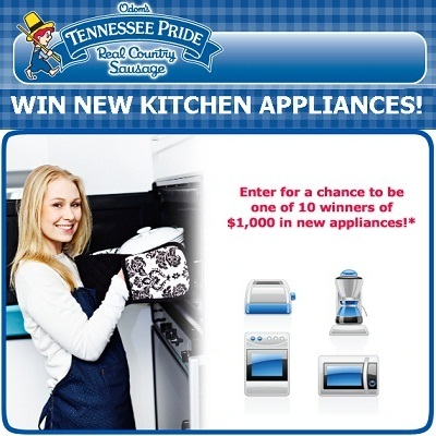 Win Kitchen Appliances with Tennessee Pride