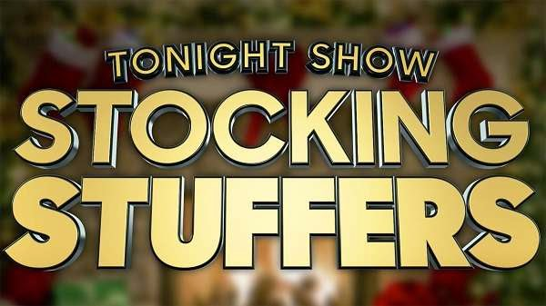 Tonight Show Stocking Stuffers Sweepstakes