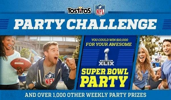 Tostitos Party Challenge: Win 1000 Weekly Prizes